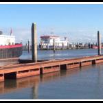 Jachthaven Ameland aanlegsteigers